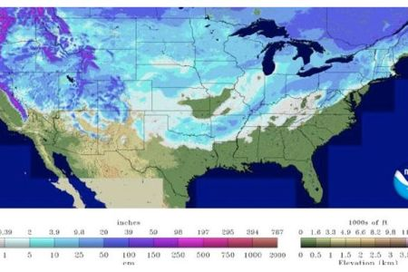 65 percent of usa covered by snow earth changes sott.net