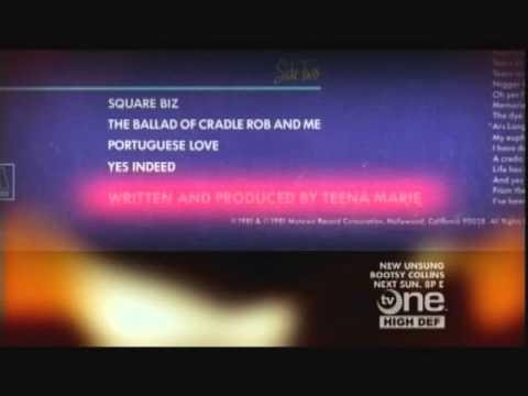 Teena Marie UNSUNG Full Episode TV One Documentary