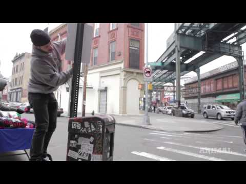 """Rap Lyrics as Street Art in NYC: Artist Jay Shells Drops """"Bombs"""" in the Hood with """"Rap Quotes"""""""