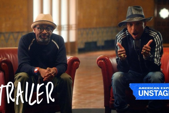 @Pharrell Partners with @SpikeLee for AmEx Unstaged