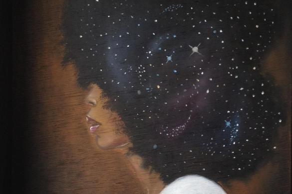 Spaced Out Badu by Amar Stewart