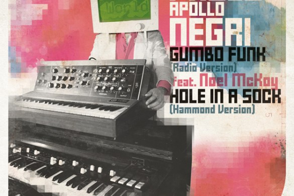 Paolo Apollo Negri - Musician with a Vision and a Funky Style