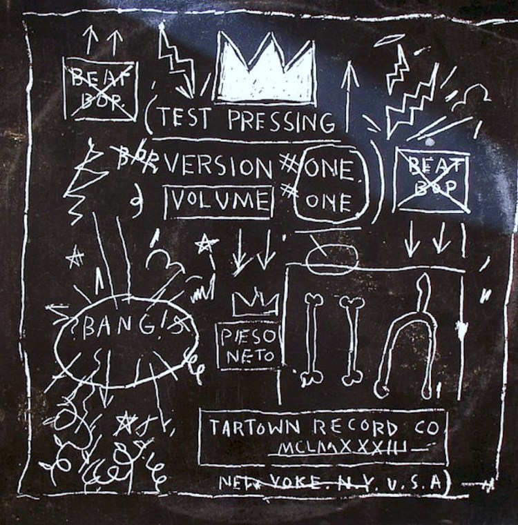 basquiat beat-bop