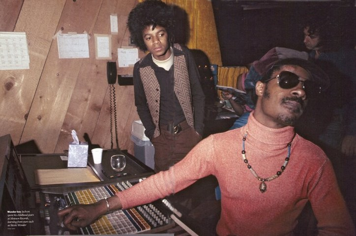 Stevie Wonder and Michael Jackson Buttercup