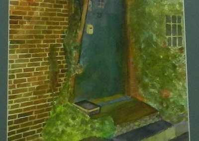 """""""GREEN DOOR WELCOMES YOU"""""""