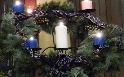 """WHEN CHRISTMAS HURTS: liturgy for congregational use (Blue Christmas)"""