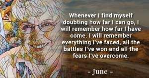 June-courage