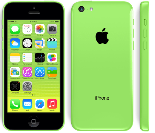 Apple   iPhone 5c-green