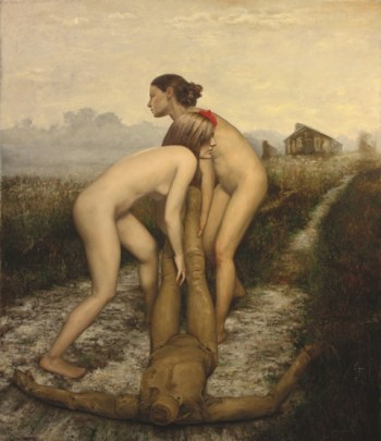 Cesar-Santos_-Hunting-Season_71x61in_Oil-on-canvas-low-res