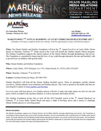 Marlins-Host-BaseBowl-at-Lucky-Strike_2-7-13