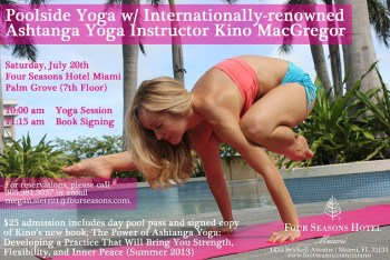 Kino-MacGregor-Poolside-Yoga-Four-Seasons-Miami