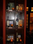 Rum Bar Rum Display