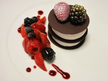 Milles Feuilles of Chocolate_Mascarpone Cheese_Berries[3]