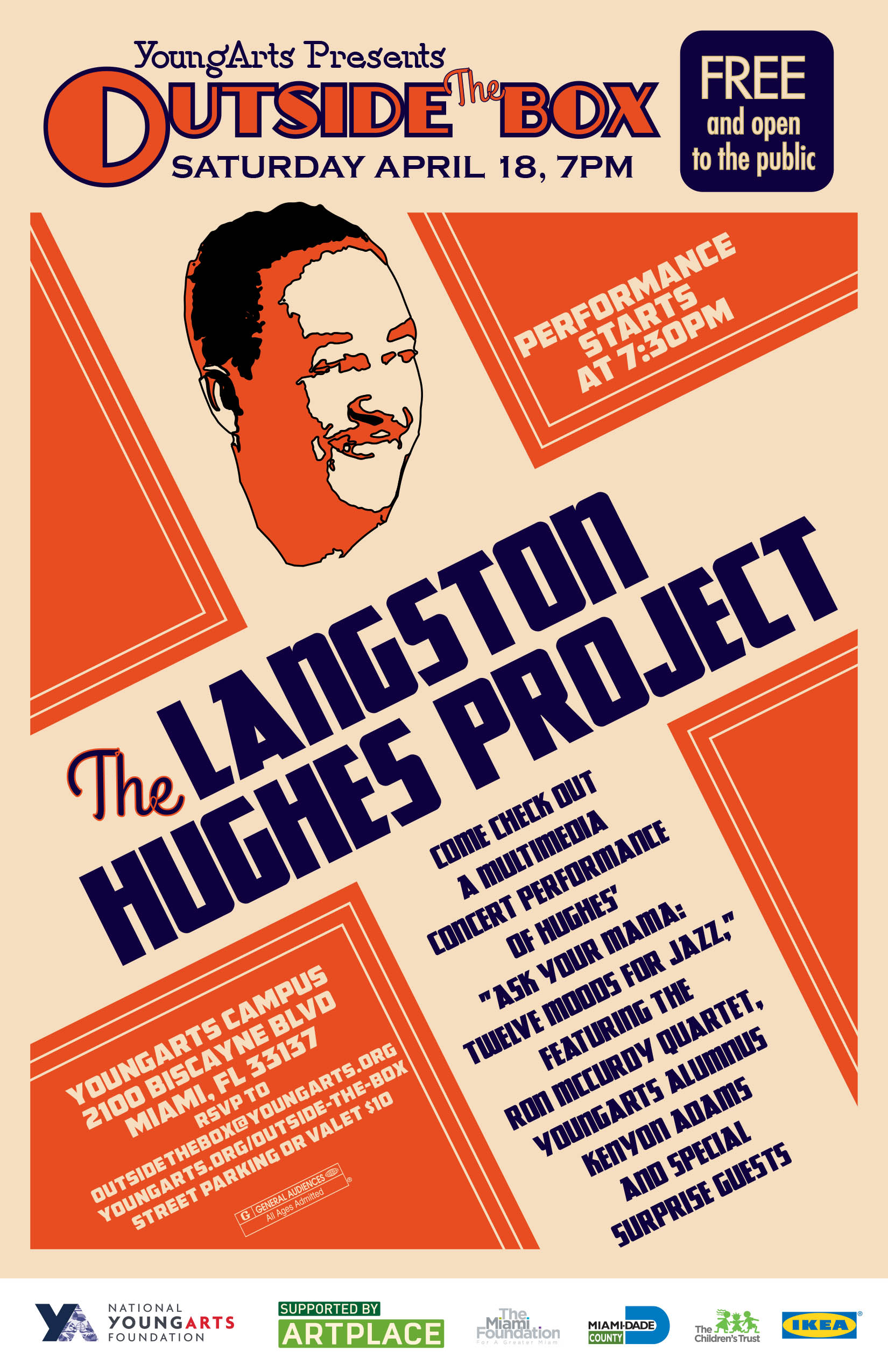 2015 OTB  Langston Hughes Postcard 030915