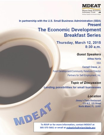 MDEAT_EcoDev-Breakfast-Series_March-12-2015