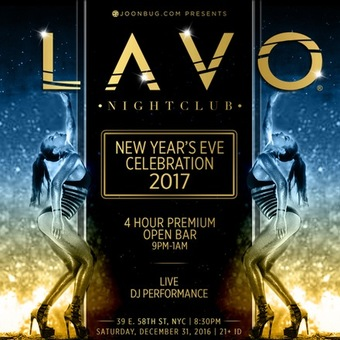 Lavo Nightclub NYE 2017