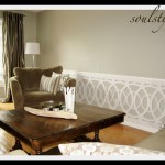 Living Room Wainscot & Coffee Table