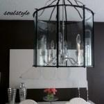 Oversize Dining Room Lantern