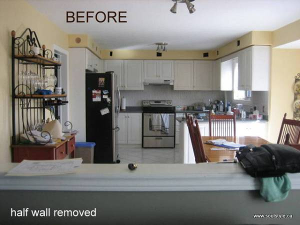 Kitchen renovation Before 4