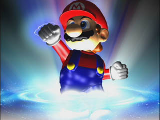 """Mario, who is transitioning from """"real"""" to """"imaginary."""""""