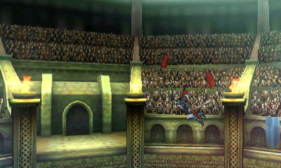 A lot of background elements are preserved in Smash.