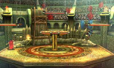 One of the forms of the stage. The small platforms can be broken.