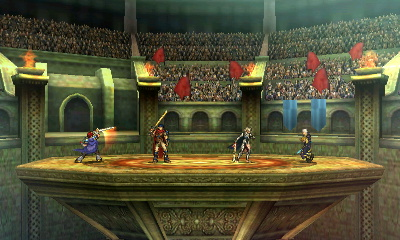 The Omega form of the stage. There's no such thing as too many Fire Emblem characters, right?