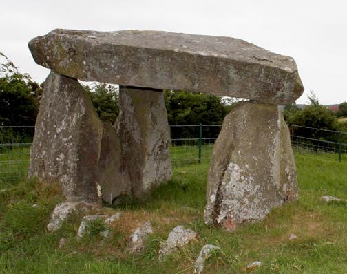 The Cailleach's Chair, Ballykeel, Armagh
