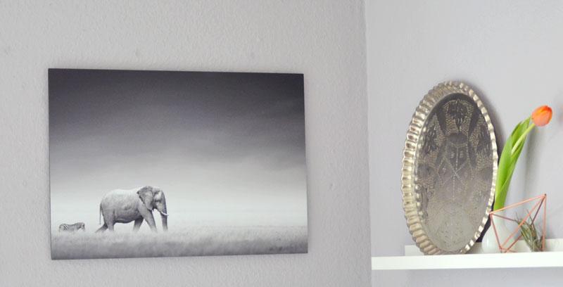 auf wolke 7 meine schlafzimmerdeko mit neuem bild und wandstickern. Black Bedroom Furniture Sets. Home Design Ideas