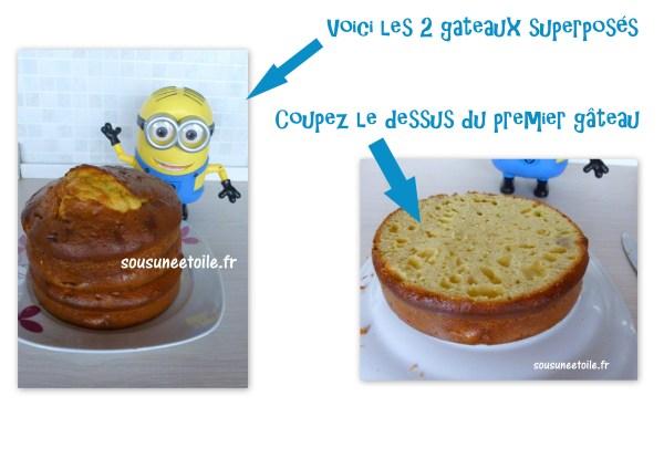 diy minion cake