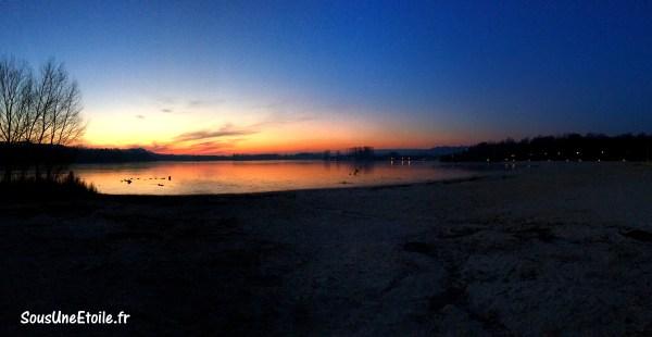 coucher soleil plage center parcs ailette