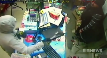 Nepalese couple running convenience store in Sydney robbed by axe-wielding bandit