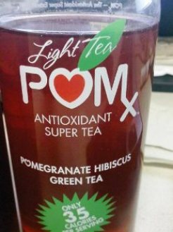 Pomegranate Hibiscus Green Tea
