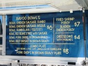 Menu - Food Truck Friday Ragin Cajun South Bay Foodies