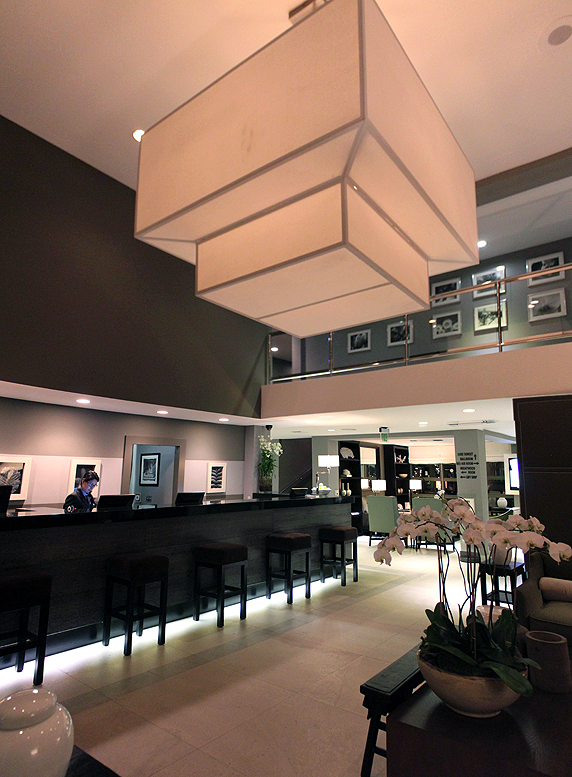 2- The Spacious and Welcoming Lobby of the Luxe Hotel on Sunset Boulevard1