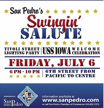 San Pedro's Swingin' Salute Welcomes the USS Iowa
