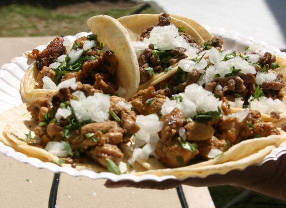 carne asada tacos from BG Tacos