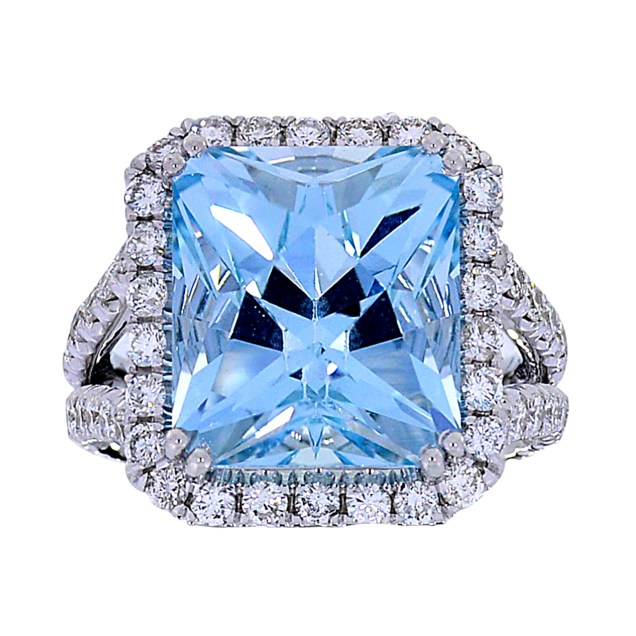 Aquamarine Diamond South Bay Gold