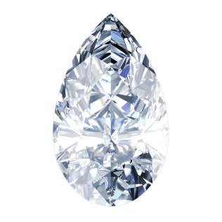 Diamond Pear-Shape or Tear Drop Cut - South Bay Gold