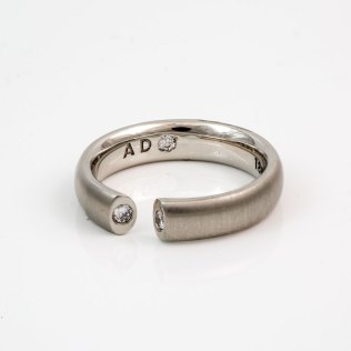 Adamant Designs E´toile Diamond Ring White Gold - SBG Jewelry Store