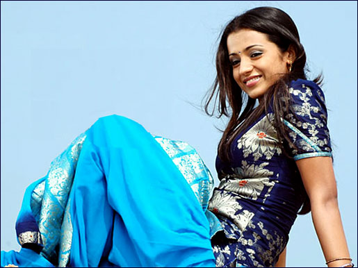 trisha blue Trisha Exclusive Photos from Kuruvi SpotLight