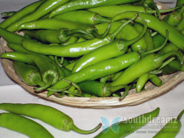 green chillis Top 12 foods that cut your fat