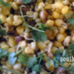 Mixed Sprouts Corn Salad (Ayurvedic recipe)