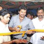 Actor Vijay Pressmeet in Pudhukottai   Photo Gallery