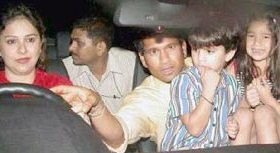 Sachin Tendulkar Family Photos2 Sachin Tendulkar Rare Picture & Videos