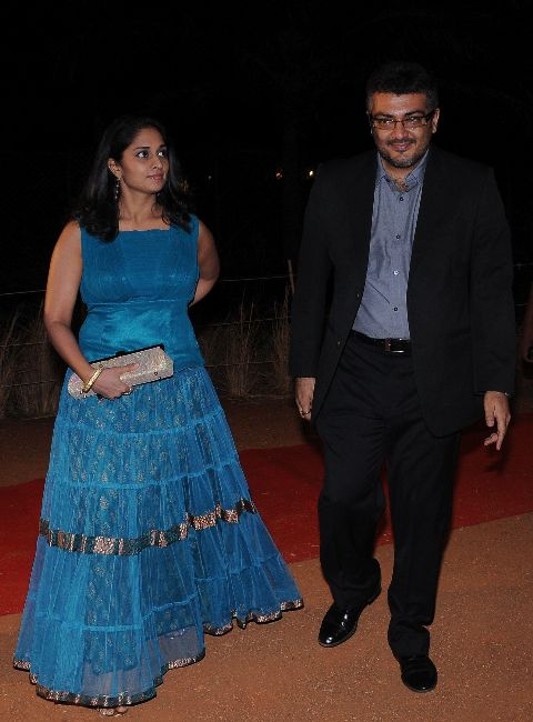 simbhu birthday bash stills 2 Ajith, Shalini & Trisha at Simbu's Birthday Bash