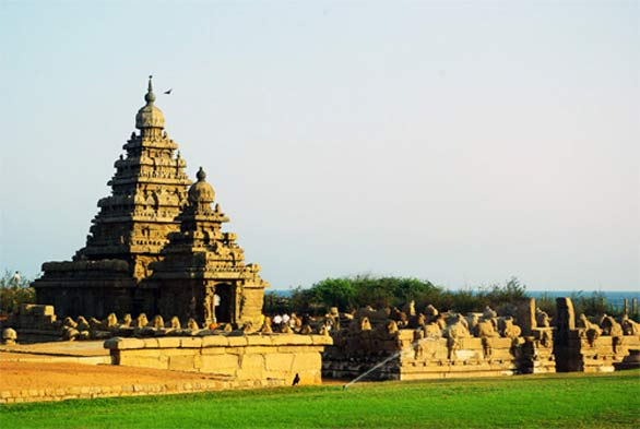 Shore Temple Mahabalipuram Tamil Nadu Some Magnificient Temples of India