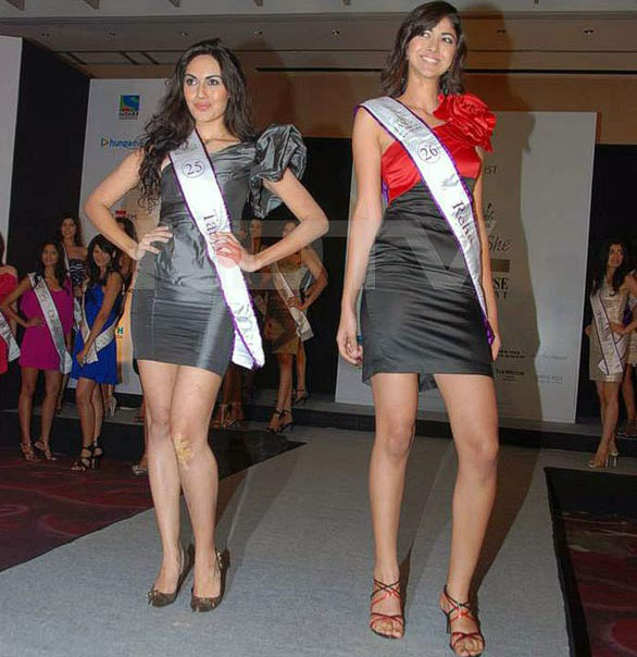 Femina Miss India 2010 11 Pantaloons Femina Miss India Finalists stills