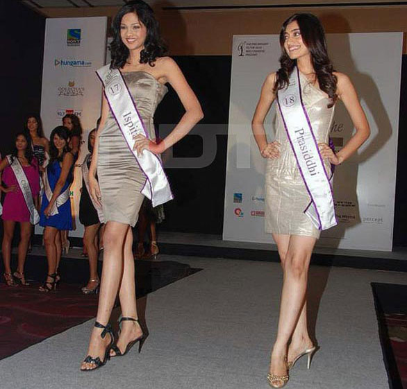 Femina Miss India 2010 14 Pantaloons Femina Miss India Finalists stills
