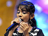 priyanka Vote For Airtel Super Singer Junior 2 Show